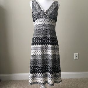 Adrianna Papell Knit Dress Sz 10